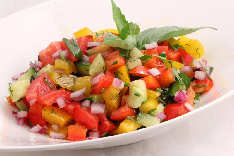 Салат овощной 1/200